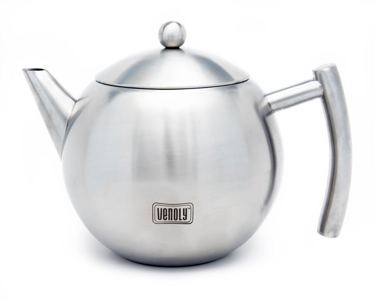 Stainless Steel Tea Pot With Removable Infuser For Loose ...