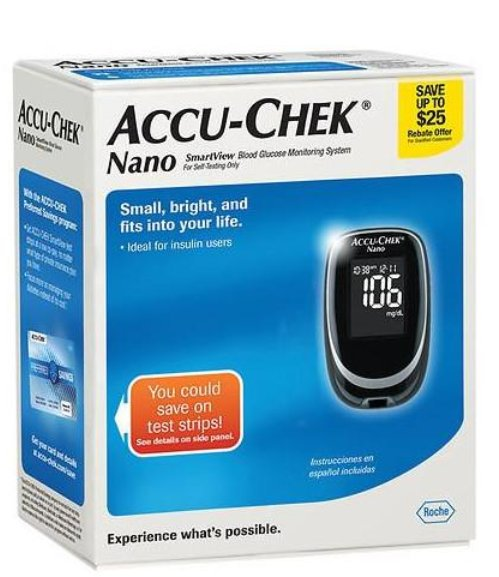 Accu-chek-Nano-Smartview-Blood-Glucose-Monitoring-System-EXP-05-2018