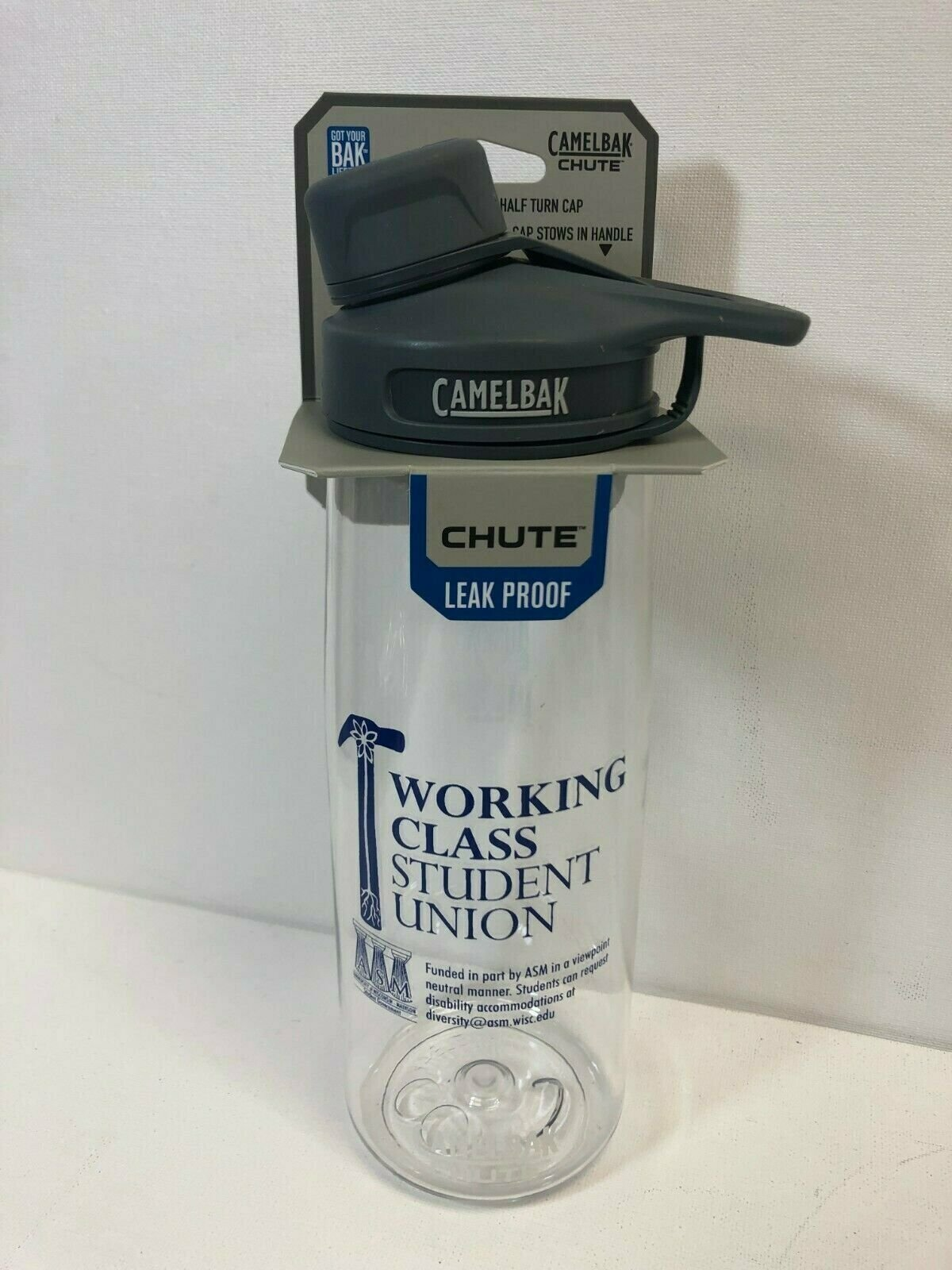 N OCONEE 2016 Varsity Tennis Clear Water Bottle 25 oz. CamelBak Chute .75L
