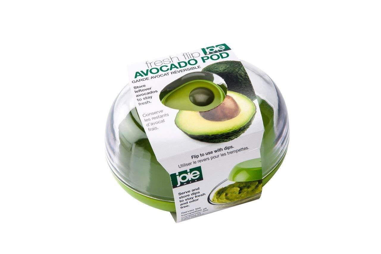 Avocado Fresh Flip Pod Saver Container Guacamole Dip Storage Serving Dish Ebay