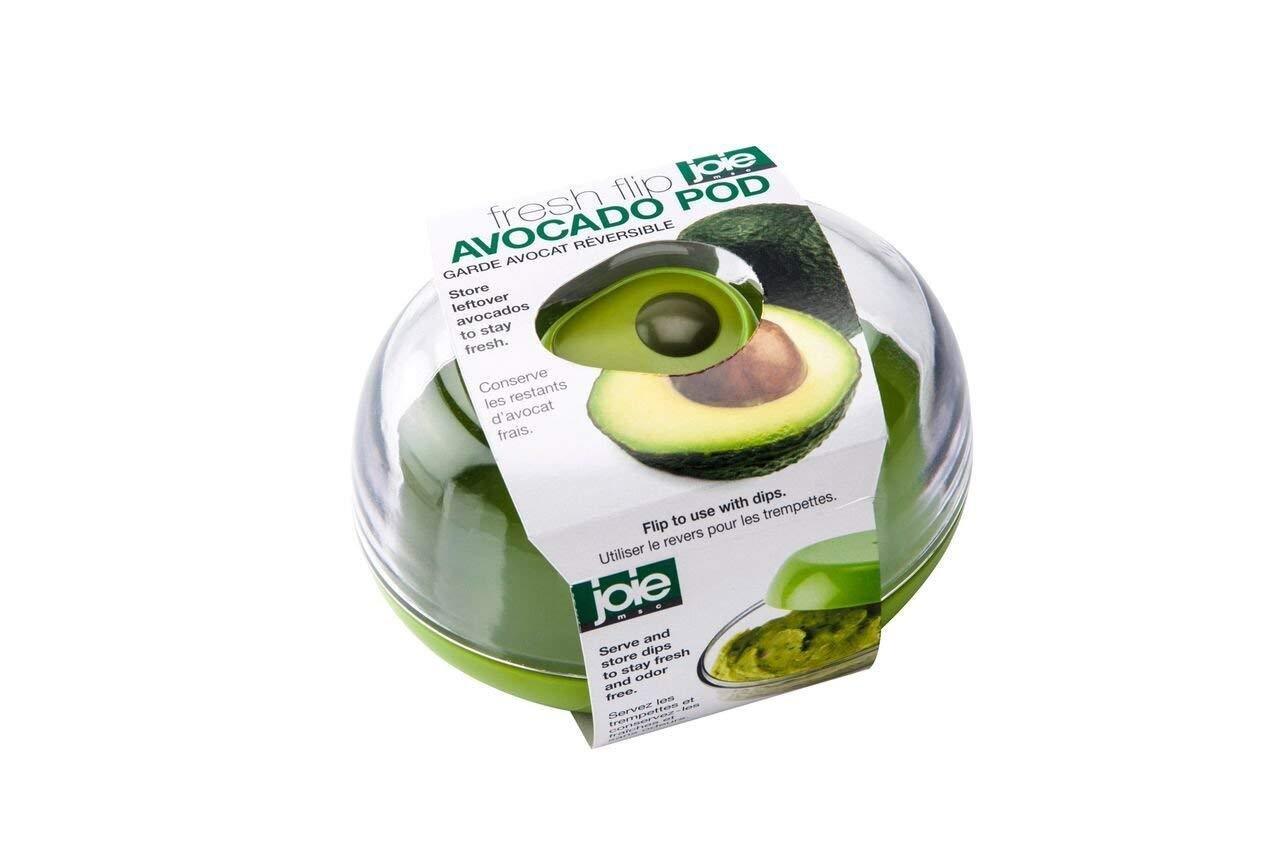 Avocado Fresh Flip Pod Saver Container Guacamole Dip Storage Serving Dish Ebay