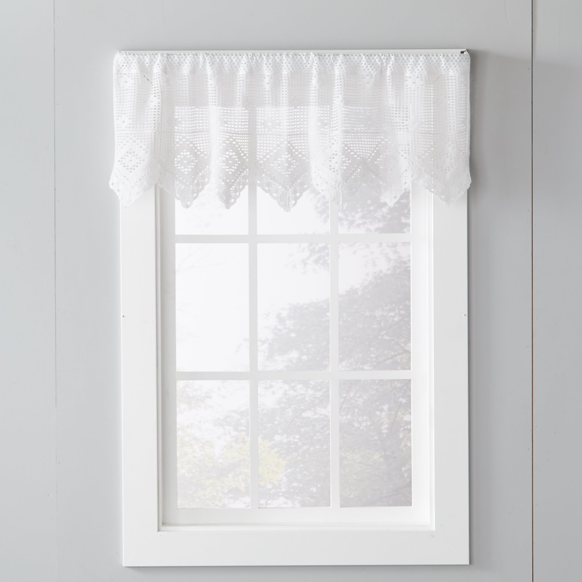 Saturday Knight Ltd Bless Our Home Window Valance With 1 5 Rod 56x13 Multi For Sale Online Ebay