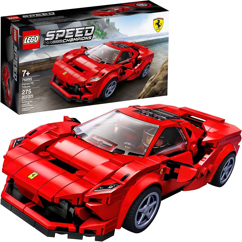 Ferrari F8 Tributo Colors: LEGO Speed Champions 76895 Ferrari F8 Tributo Toy Cars For