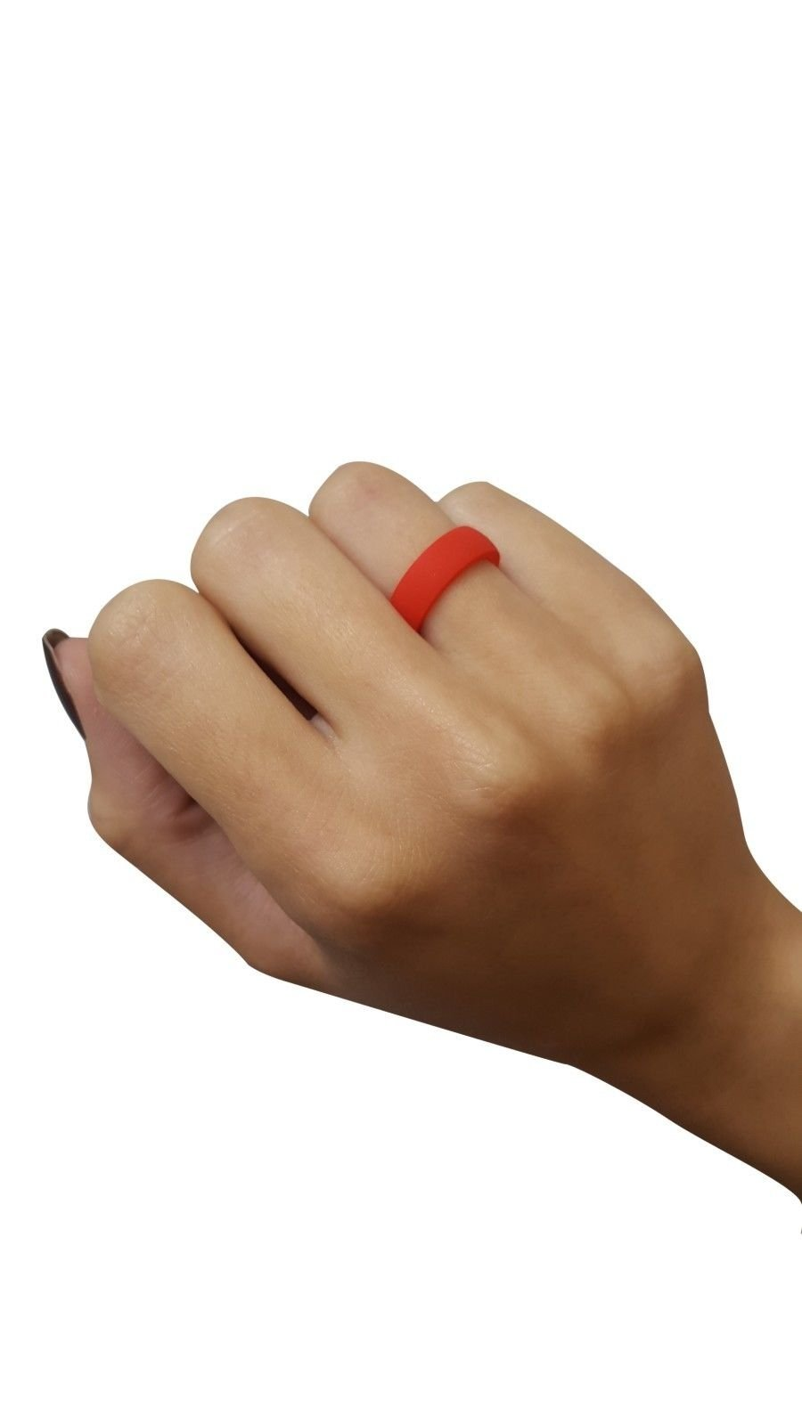 High Speed Pro Thin Silicone Wedding Ring Rubber Crossfit Military