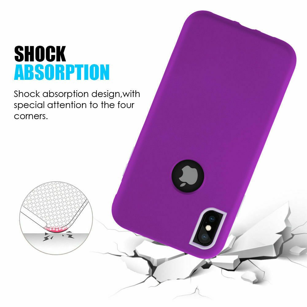For-iPhone-6-7-8-Plus-11-X-XS-XR-Max-Case-Cover-Protective-Rugged-Shockproof thumbnail 15