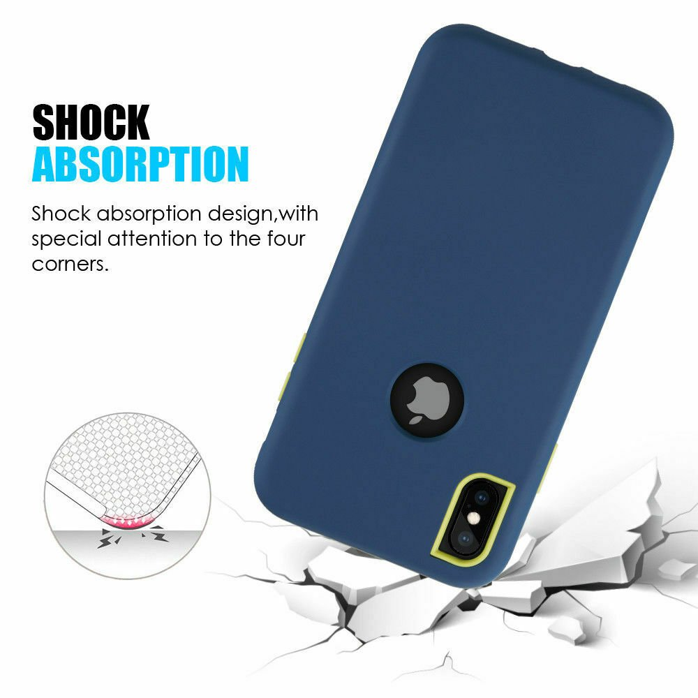 For-iPhone-6-7-8-Plus-11-X-XS-XR-Max-Case-Cover-Protective-Rugged-Shockproof thumbnail 13