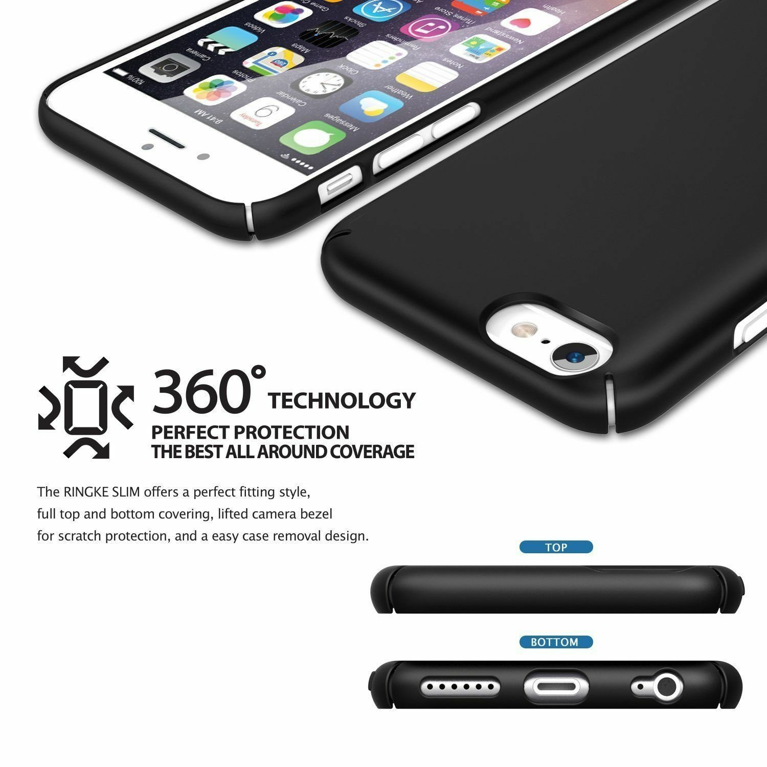 For-iPhone-6-6s-7-8-Plus-X-XR-XS-Max-Case-Shockproof-Ultra-Thin-Slim-Hard-Cover thumbnail 13