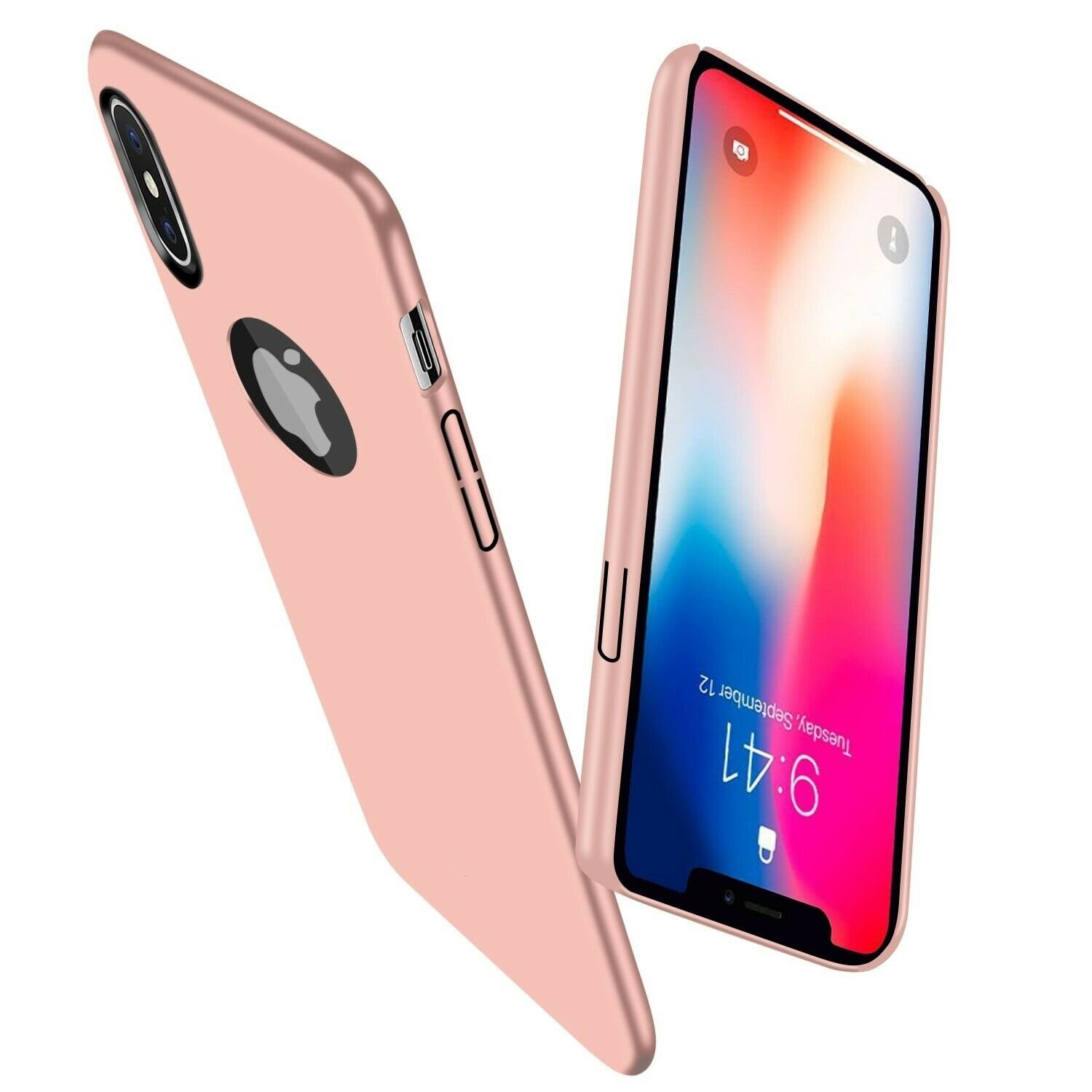 For-iPhone-X-XR-XS-Max-Matte-Case-Shockproof-Ultra-Thin-Slim-Hard-Cover thumbnail 37