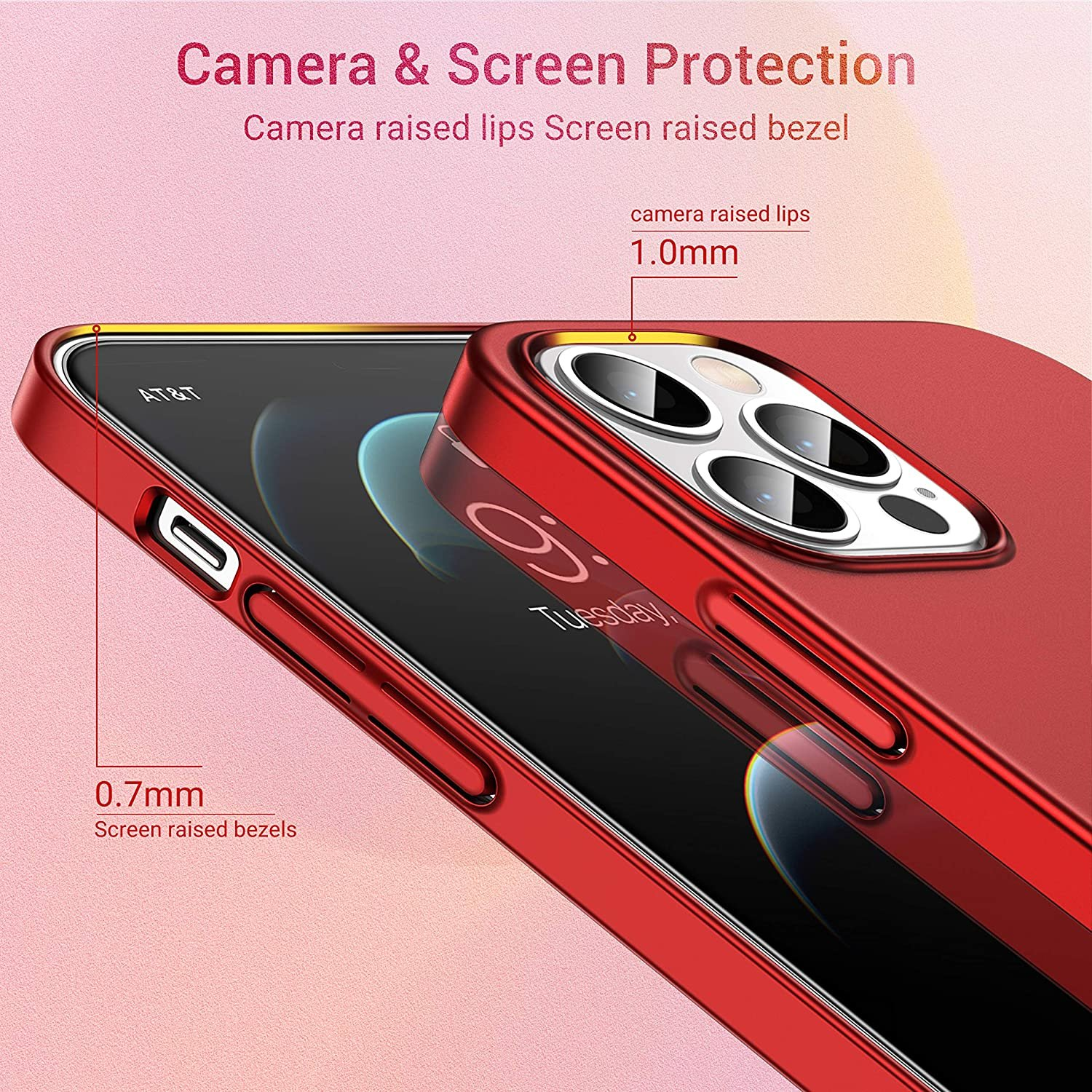 thumbnail 20 - For iPhone 11 12 Pro Max Mini Ultra Thin Case Matte Hard Shockproof Slim Cover