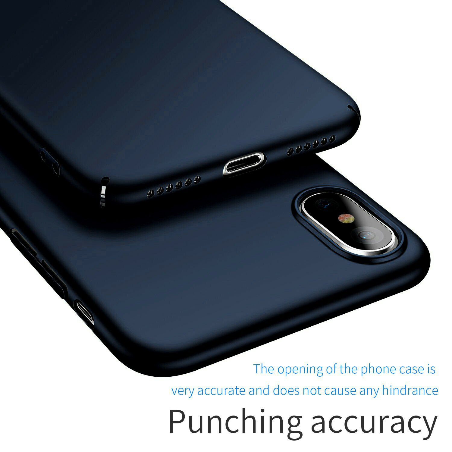 Case-Thin-Hard-Cover-Tempered-Glass-Screen-Protector-For-iPhone-X-XR-XS-Max thumbnail 31