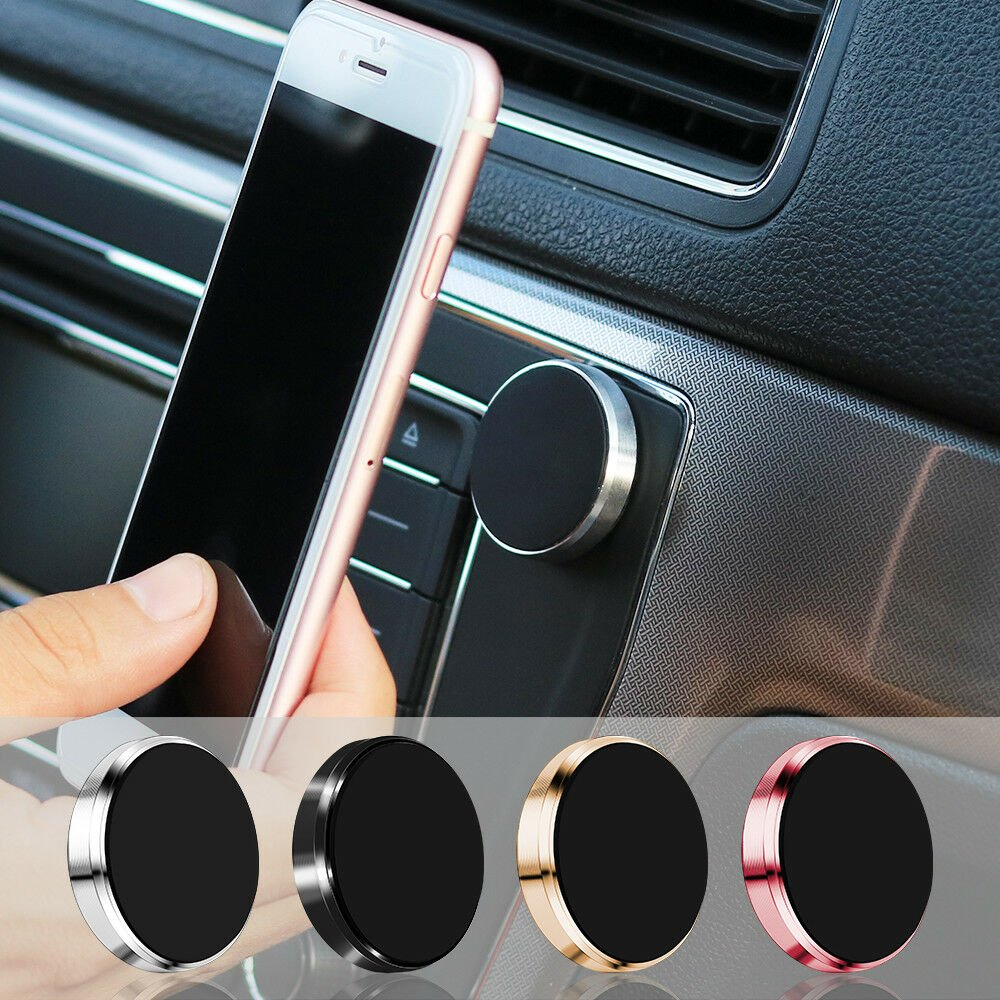 Magnetic Universal Car Mount Holder For Cell Phone Samsung Galaxy iPhone
