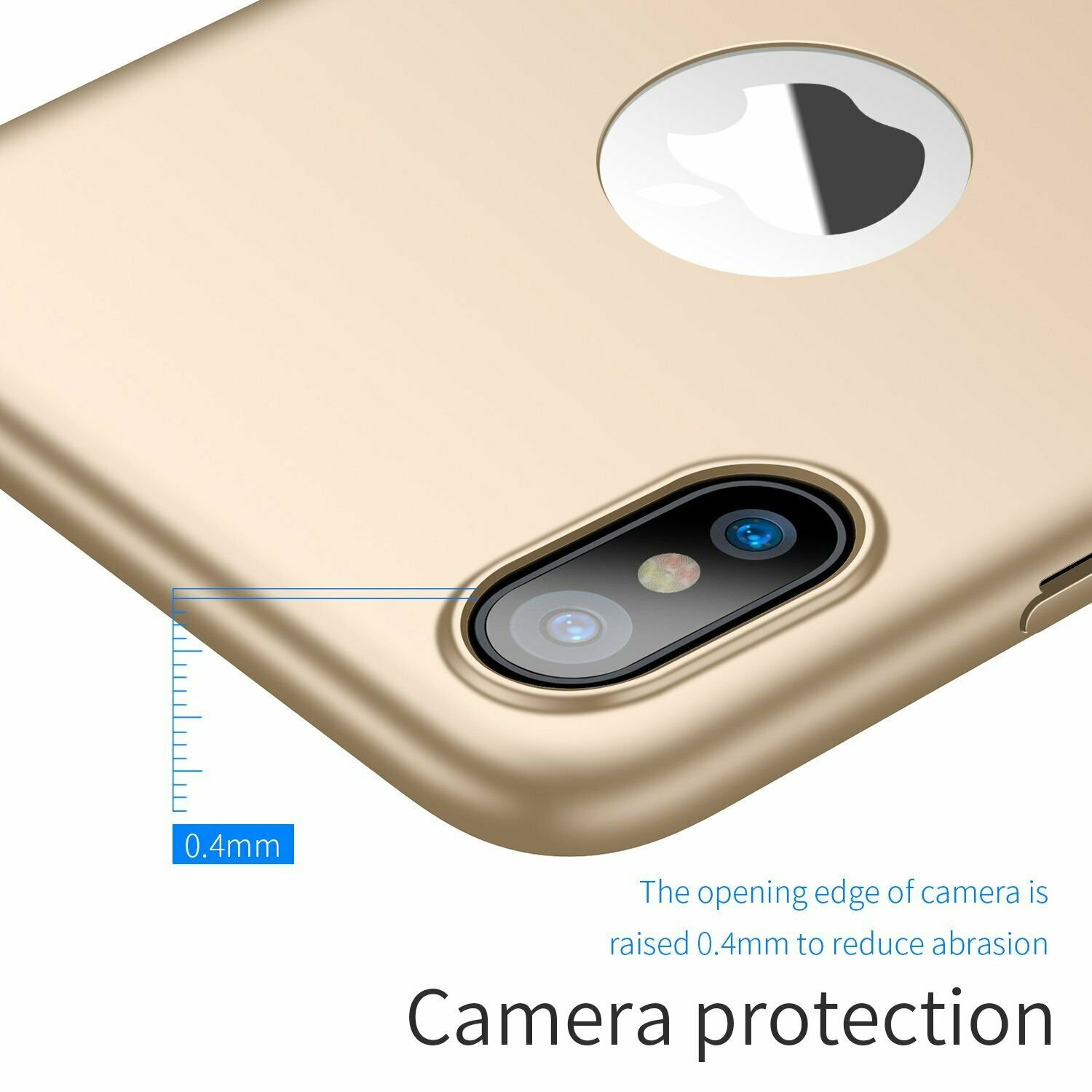 Case-Thin-Hard-Cover-Tempered-Glass-Screen-Protector-For-iPhone-X-XR-XS-Max thumbnail 17
