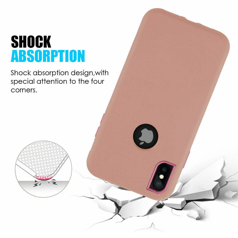 For-iPhone-6-7-8-Plus-11-X-XS-XR-Max-Case-Cover-Protective-Rugged-Shockproof thumbnail 18