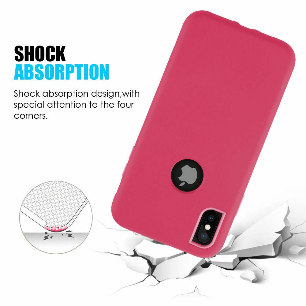 For-iPhone-6-7-8-Plus-11-X-XS-XR-Max-Case-Cover-Protective-Rugged-Shockproof thumbnail 24