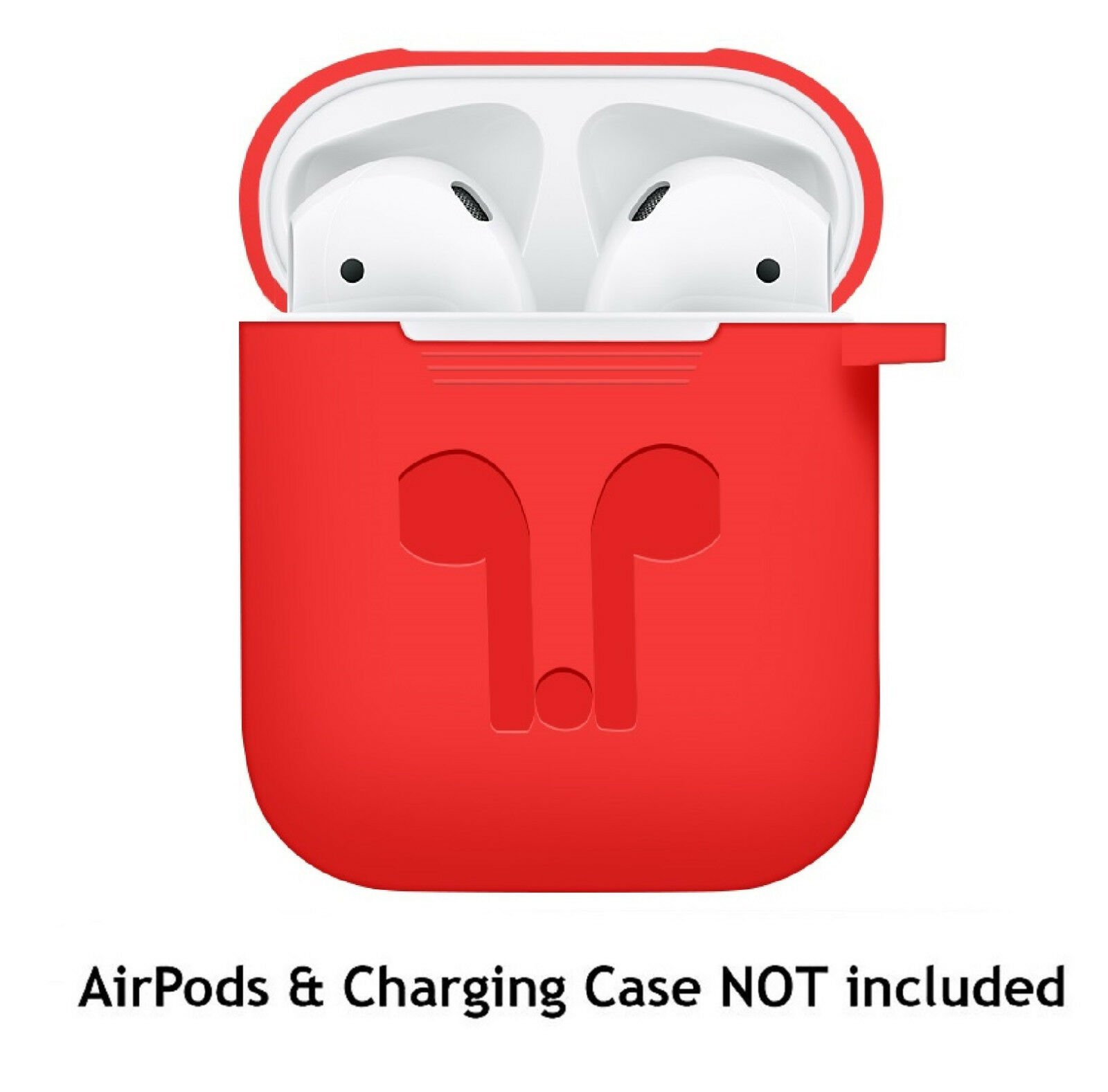 AirPods-Silicone-Case-Keychain-Protective-Cover-Skin-For-AirPod-Charging-Case thumbnail 18