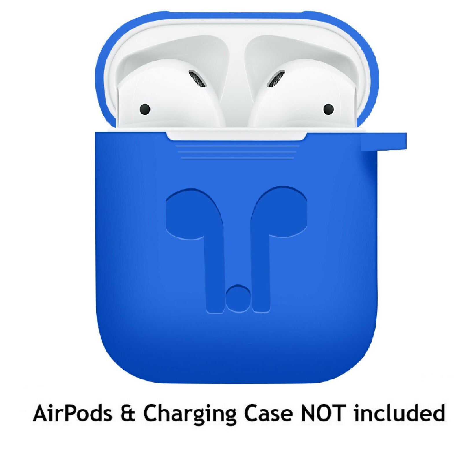 AirPods-Silicone-Case-Keychain-Protective-Cover-Skin-For-AirPod-Charging-Case thumbnail 12