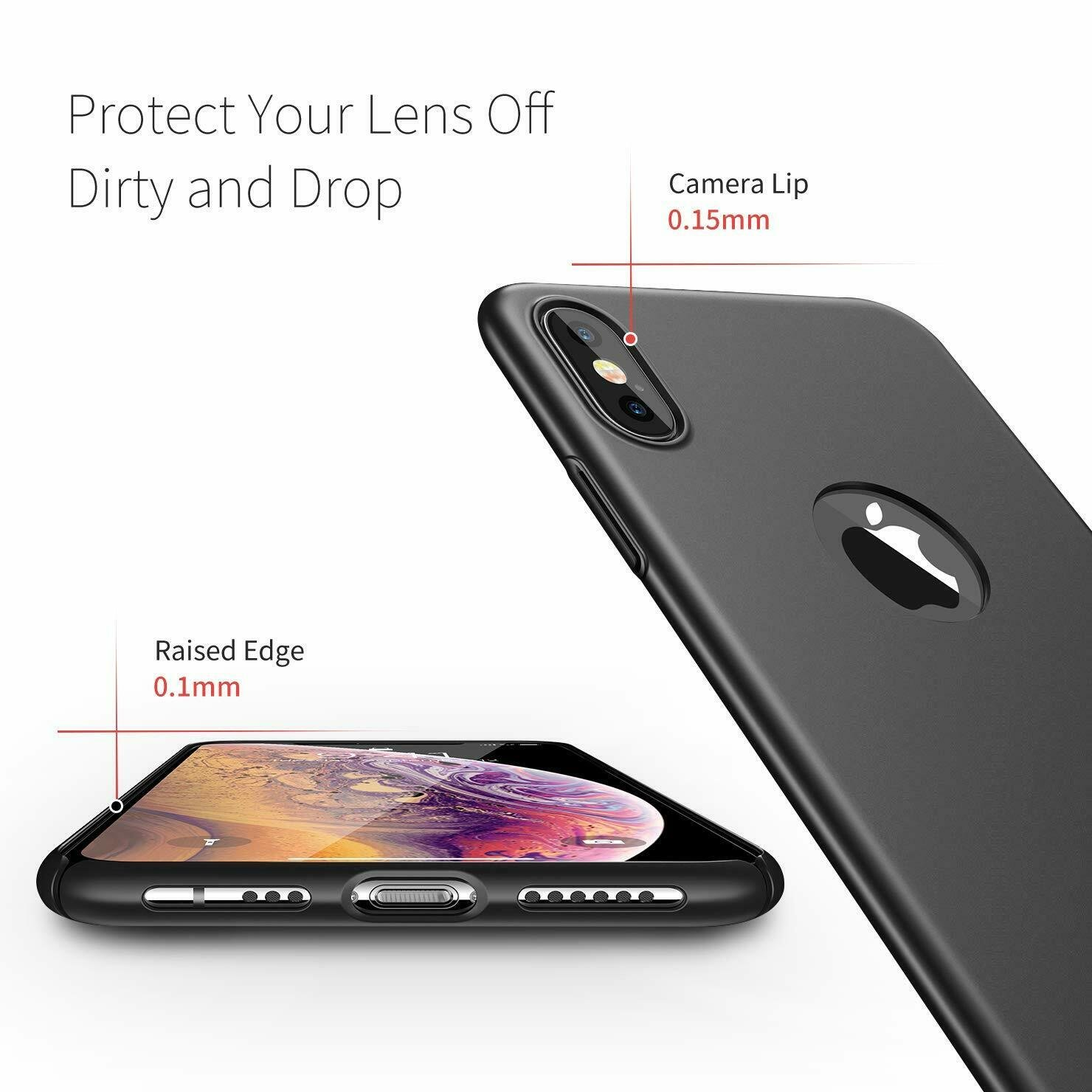 For-iPhone-X-XR-XS-Max-Matte-Case-Shockproof-Ultra-Thin-Slim-Hard-Cover thumbnail 16