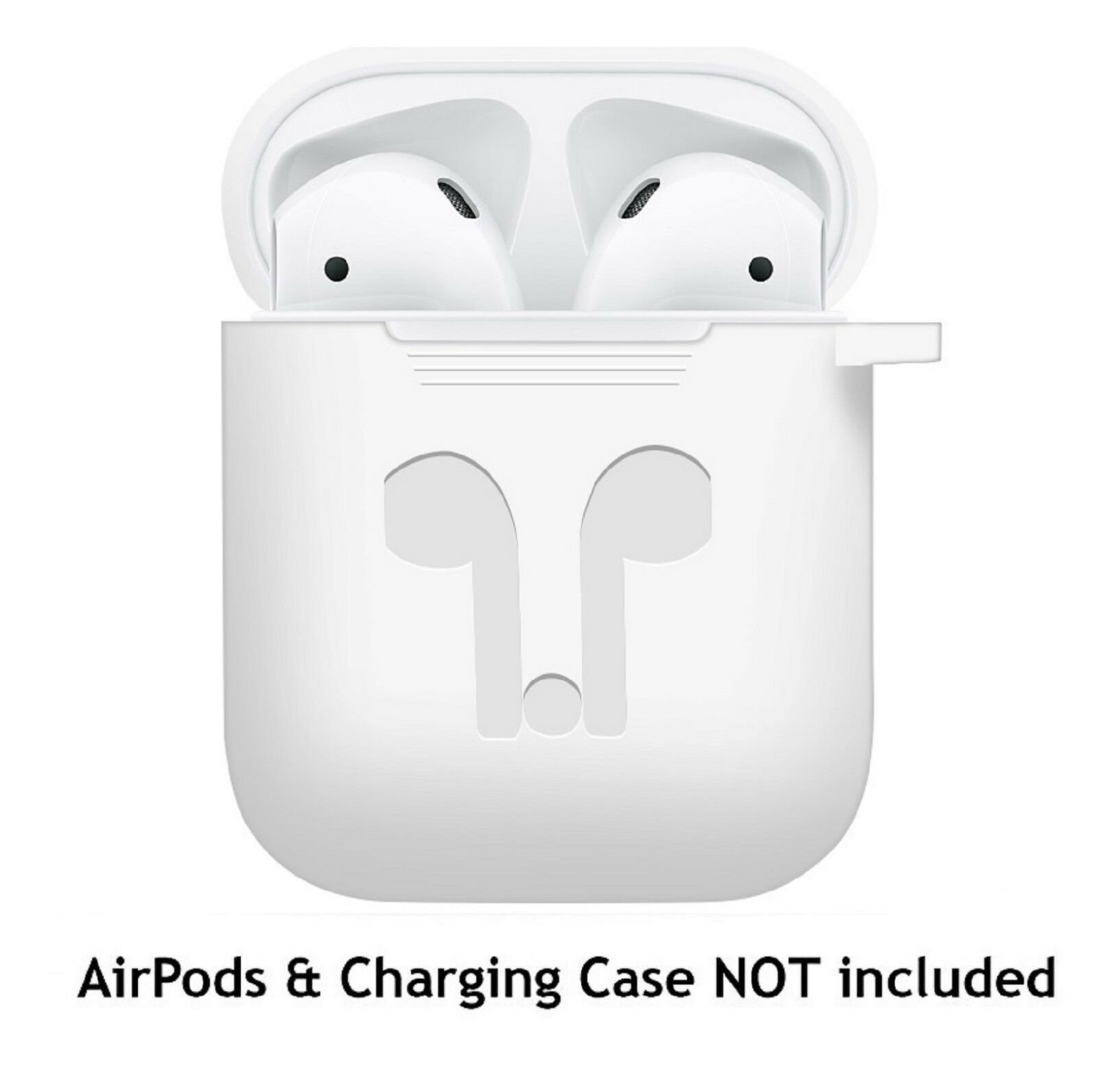 AirPods-Silicone-Case-Keychain-Protective-Cover-Skin-For-AirPod-Charging-Case thumbnail 21