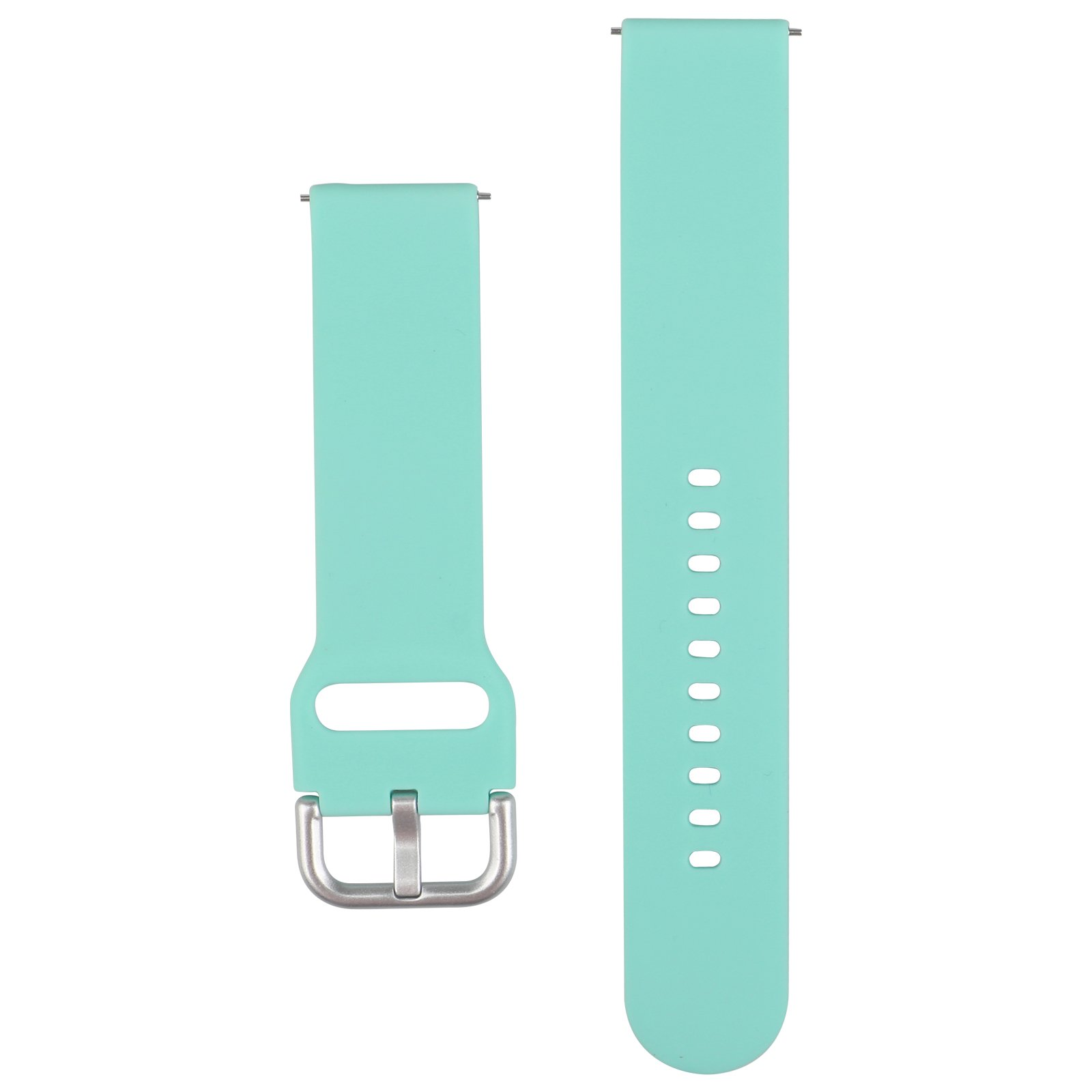 thumbnail 15 - Silicone Sport Strap For Samsung Galaxy Watch Active2 40mm 44mm Wrist Band
