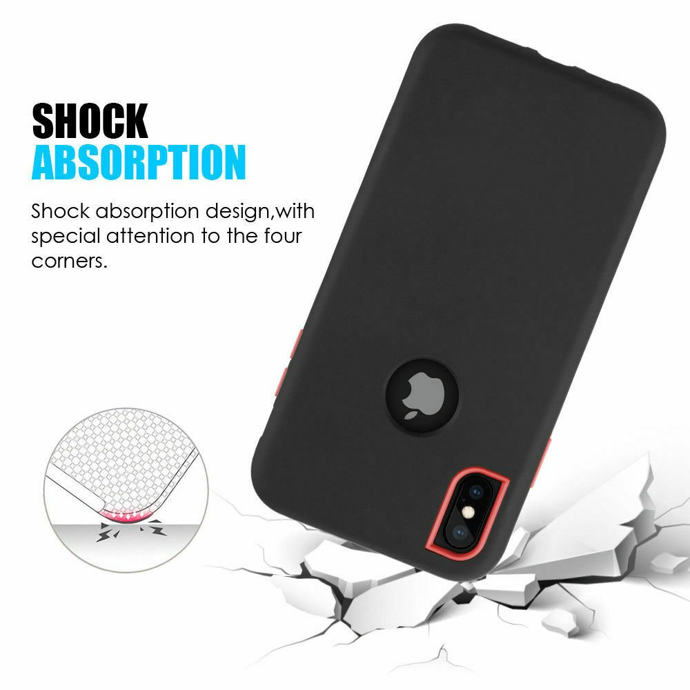 For-iPhone-6-7-8-Plus-11-X-XS-XR-Max-Case-Cover-Protective-Rugged-Shockproof thumbnail 26