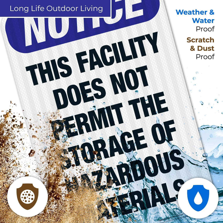 This Facility Does Not Permit The Storage of Hazardous ...