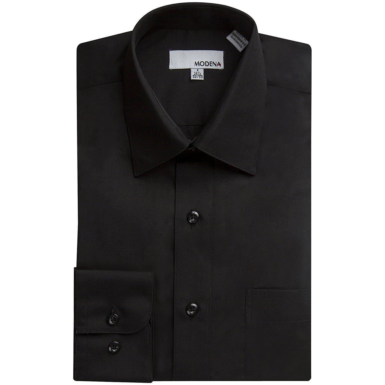 Modena Men 39 S Long Sleeve Dress Shirt Colors All Sizes