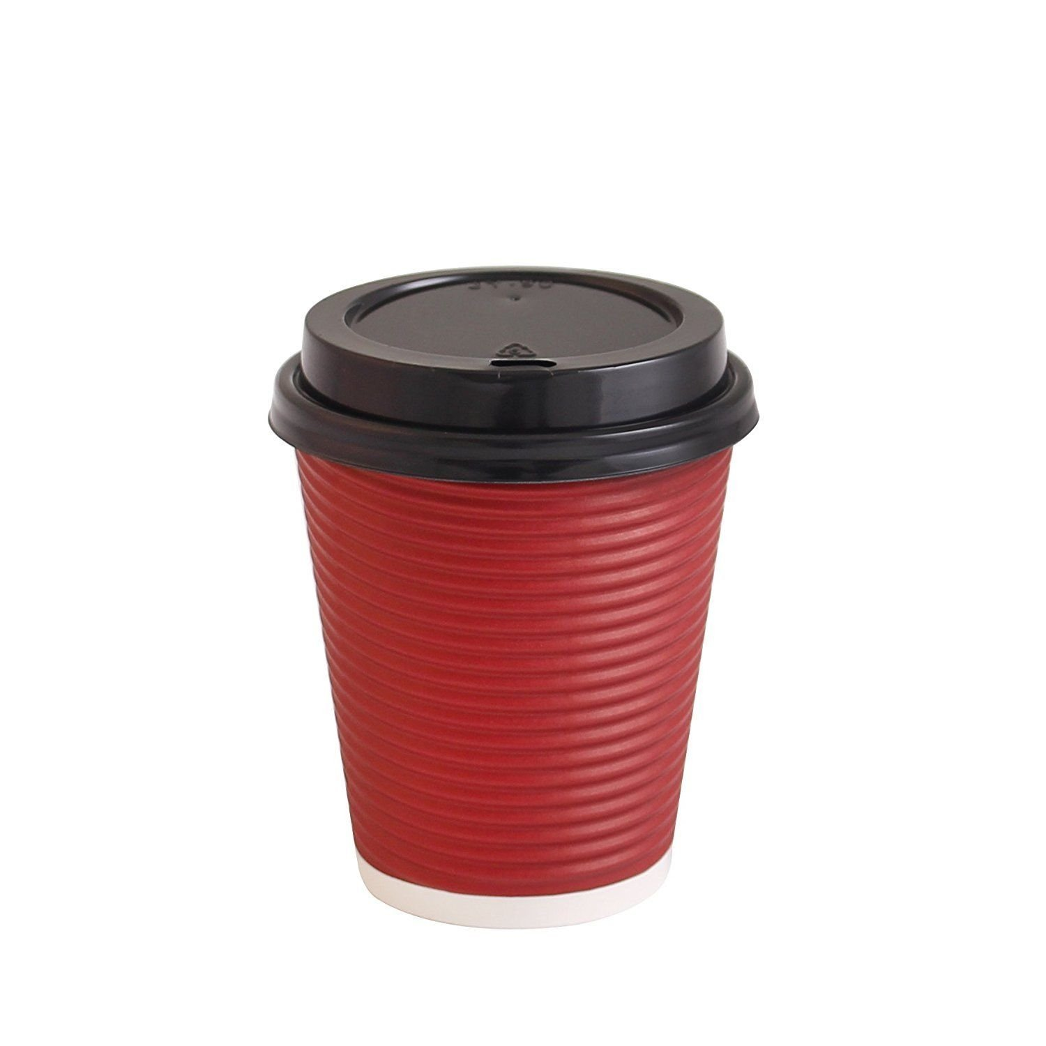 Party Bargains Disposable Coffee Cups With Lid Premium