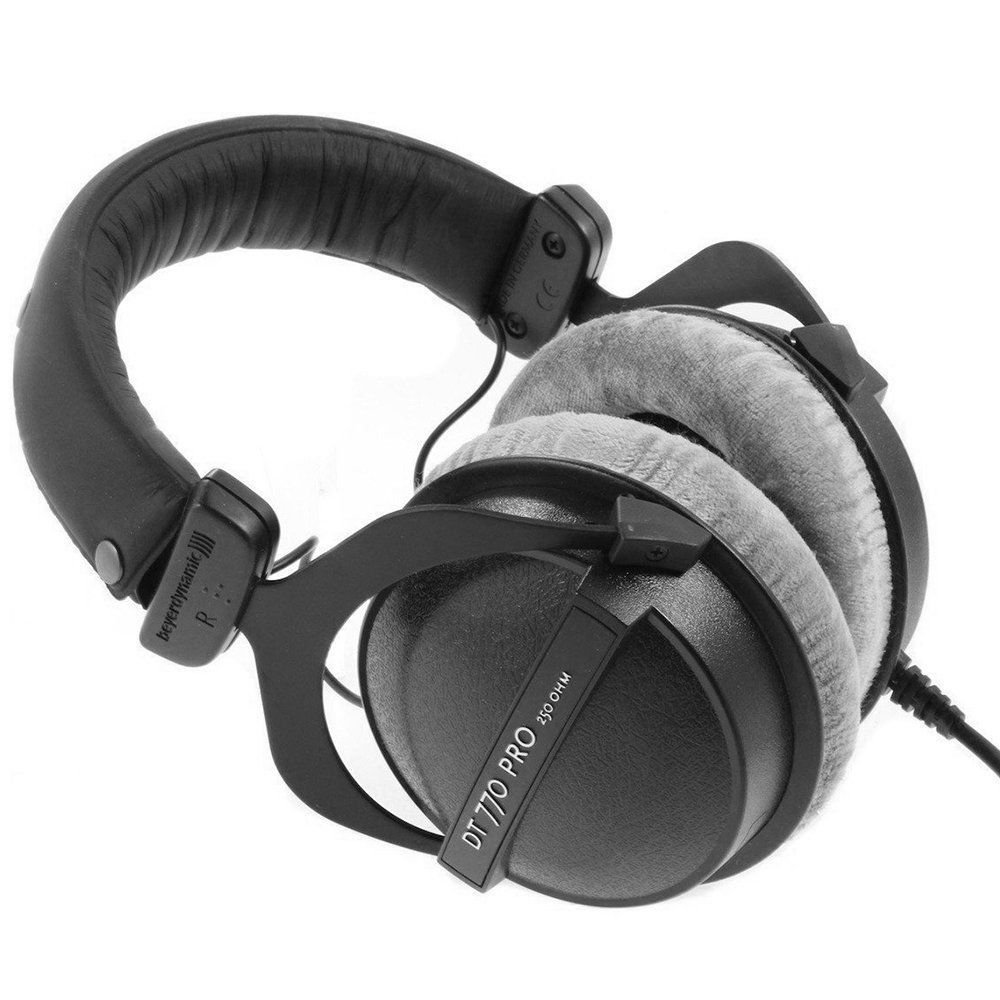 beyerdynamic dt 770 pro closed back headphone antlion modmic 4 0 microphone ebay. Black Bedroom Furniture Sets. Home Design Ideas