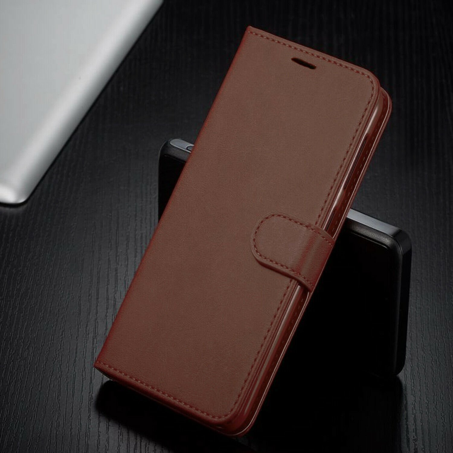 thumbnail 15 - For iPhone 7 / 8 / 7 Plus Case, Premium Wallet Cover + Tempered Glass Protector