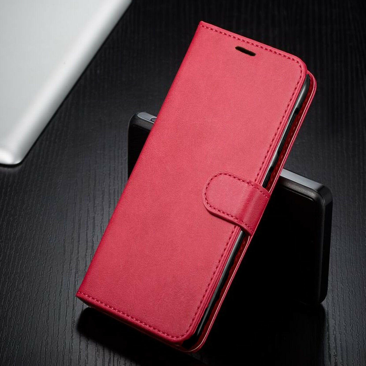 thumbnail 23 - For iPhone 7 / 8 / 7 Plus Case, Premium Wallet Cover + Tempered Glass Protector