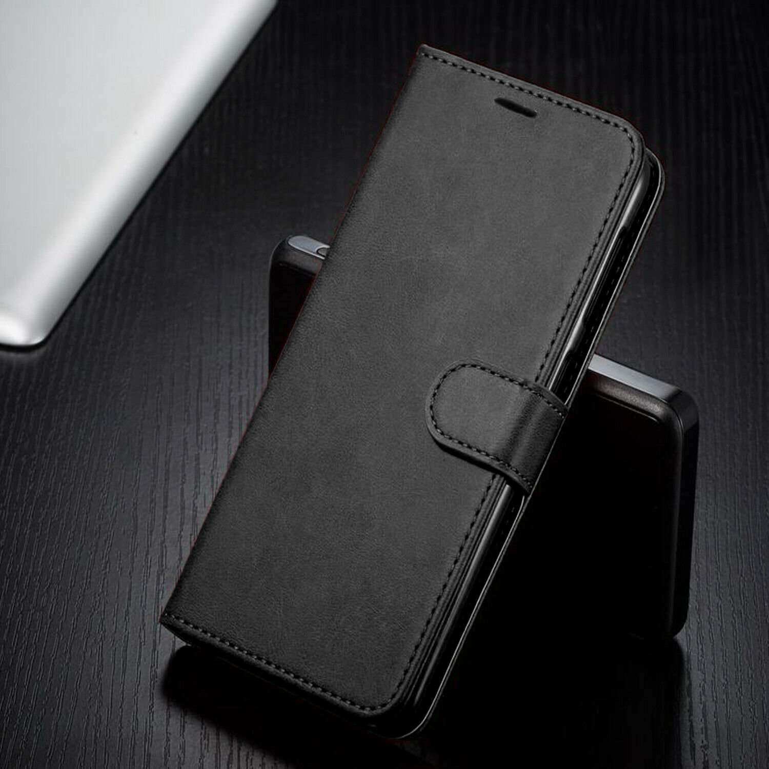 thumbnail 8 - For iPhone 7 / 8 / 7 Plus Case, Premium Wallet Cover + Tempered Glass Protector