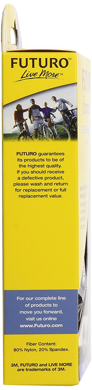 Futuro Large Energizing Ultra Sheer Knee Highs CT 8-15mmHg