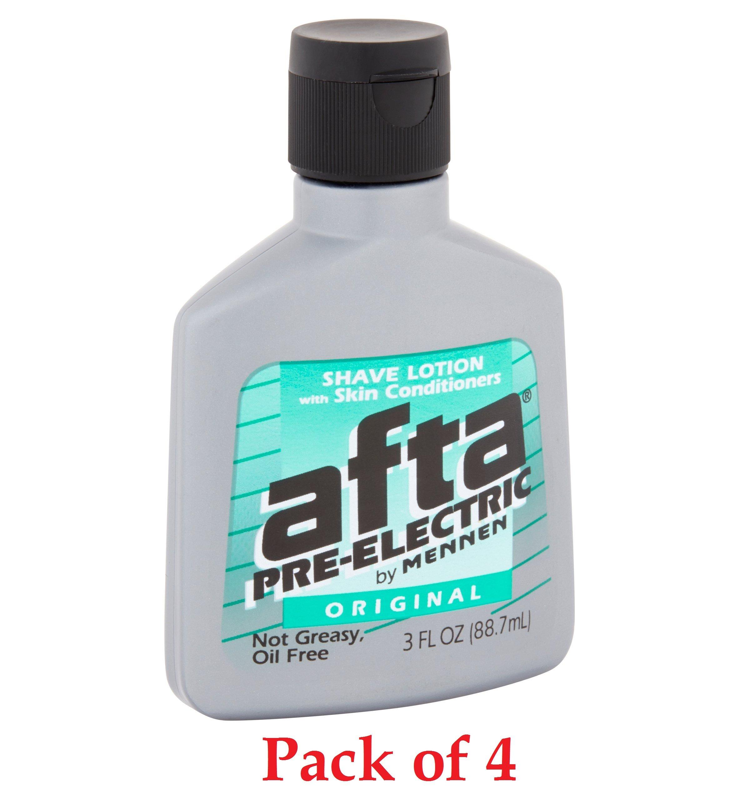 Mennen Afta Pre Electric Shave Lotion Skin Conditioners Original 3oz