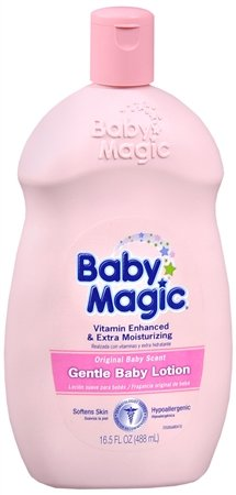 Baby Magic Gentle Baby Lotion Original Baby Scent 16.5 fl oz
