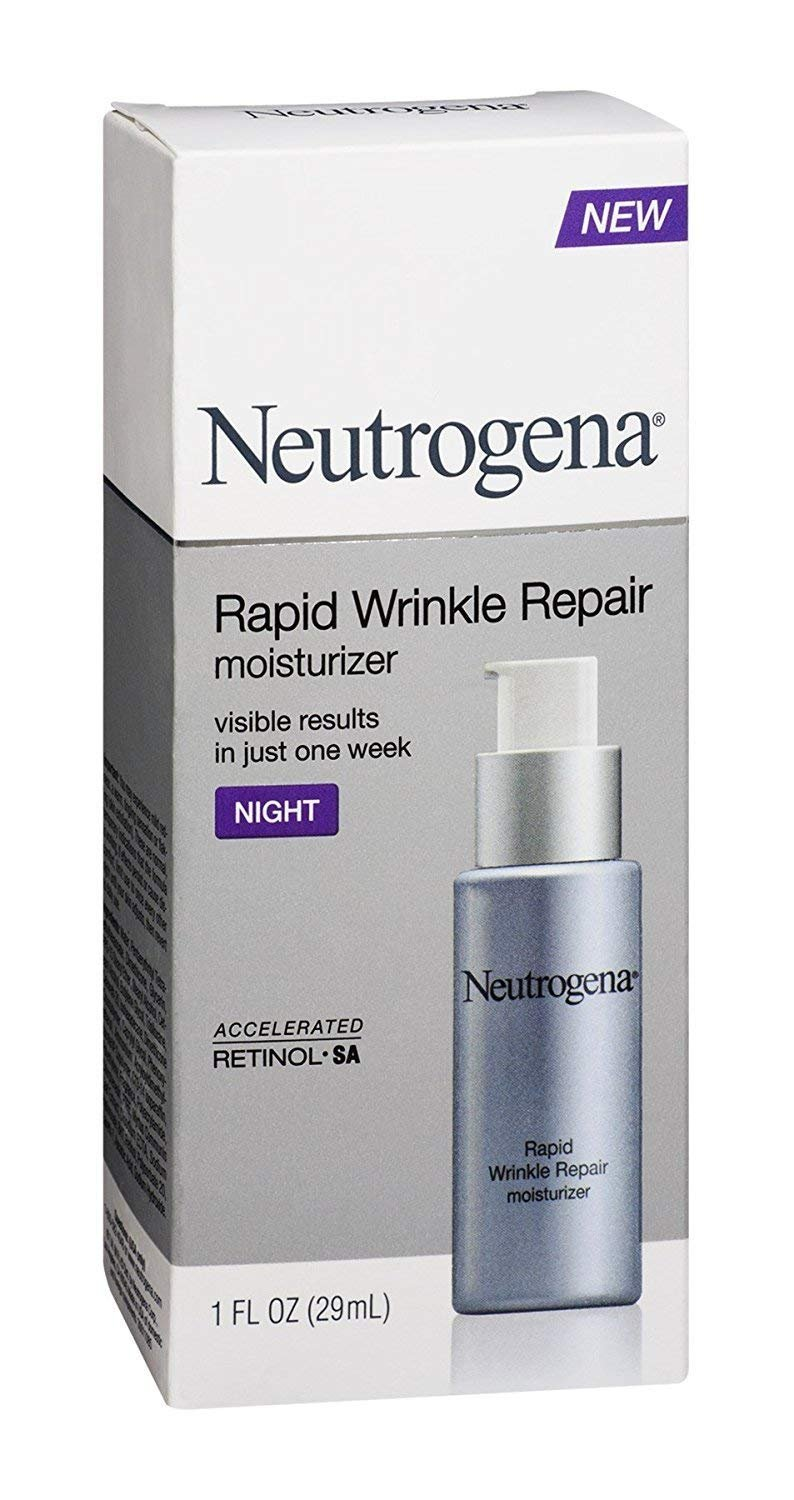Neutrogena Rapid Wrinkle Repair Night Moisturizer, 1 Oz -1 P