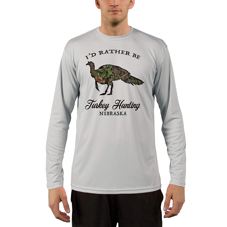 Mossy-Oak-Obsession-Turkey-Beard-Nebraska-Men-039-s-UPF-50-T-Shirt