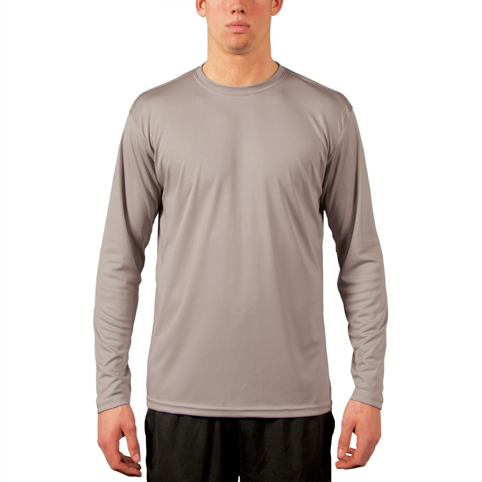 Vapor apparel men 39 s upf 50 uv sun protection long sleeve for Walmart fishing shirts