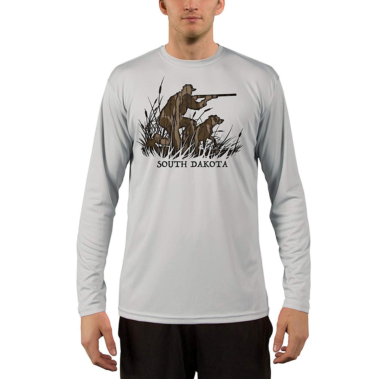 Mossy UPF Oak Obsession Turkey Flying Montana Uomo's UPF Mossy 50+ T-Shirt 1dbe78