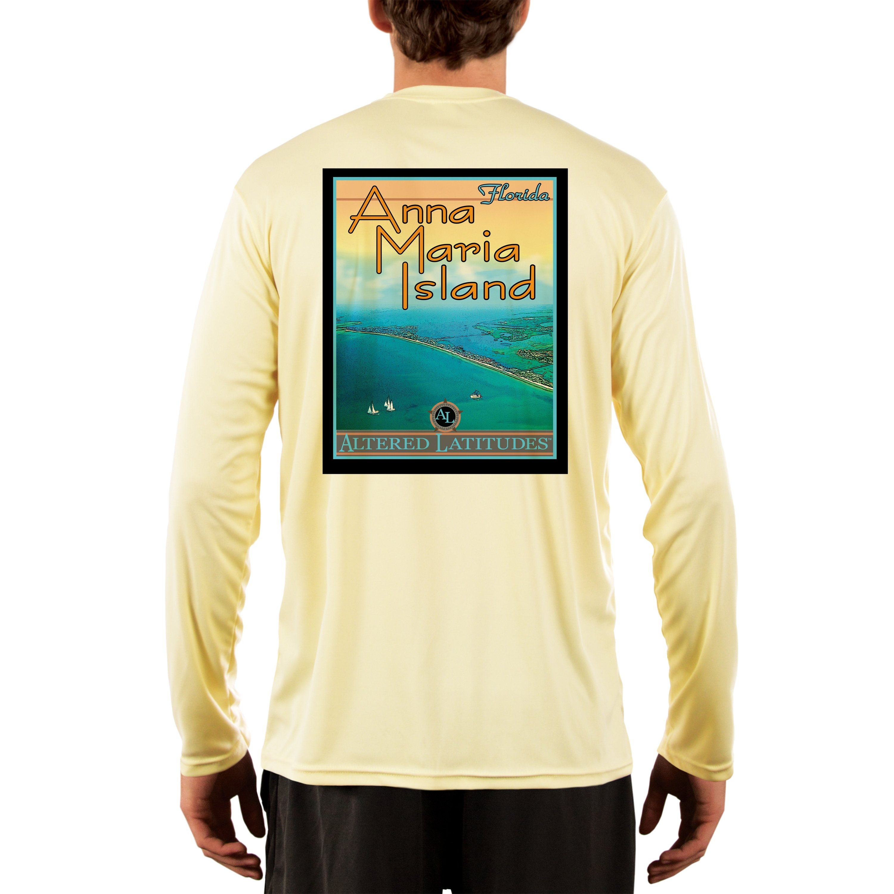 Vintage-Destination-Men-039-s-Anna-Maria-Island-