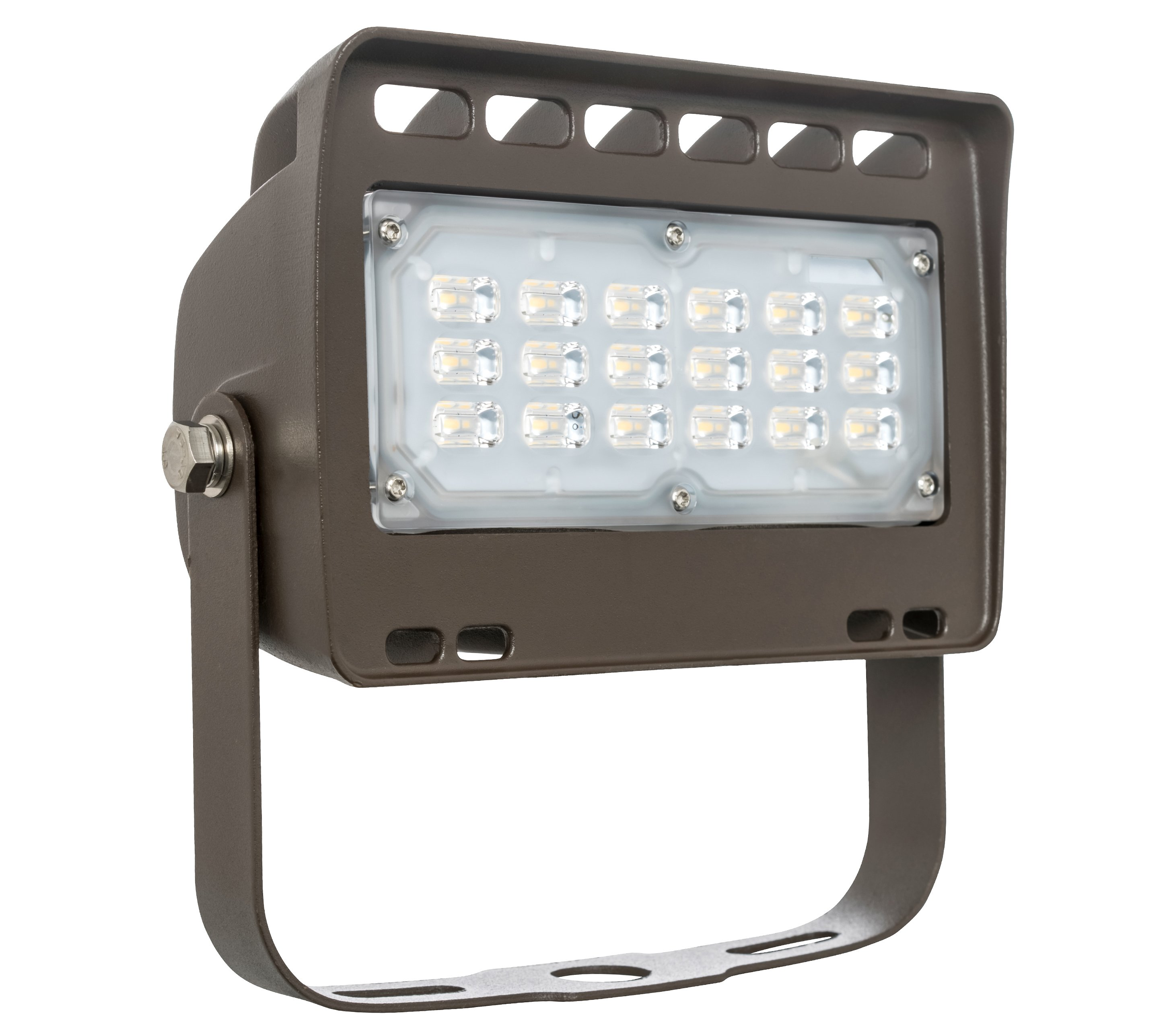 Westgate LED Outdoor Security Flood Light Fixture With