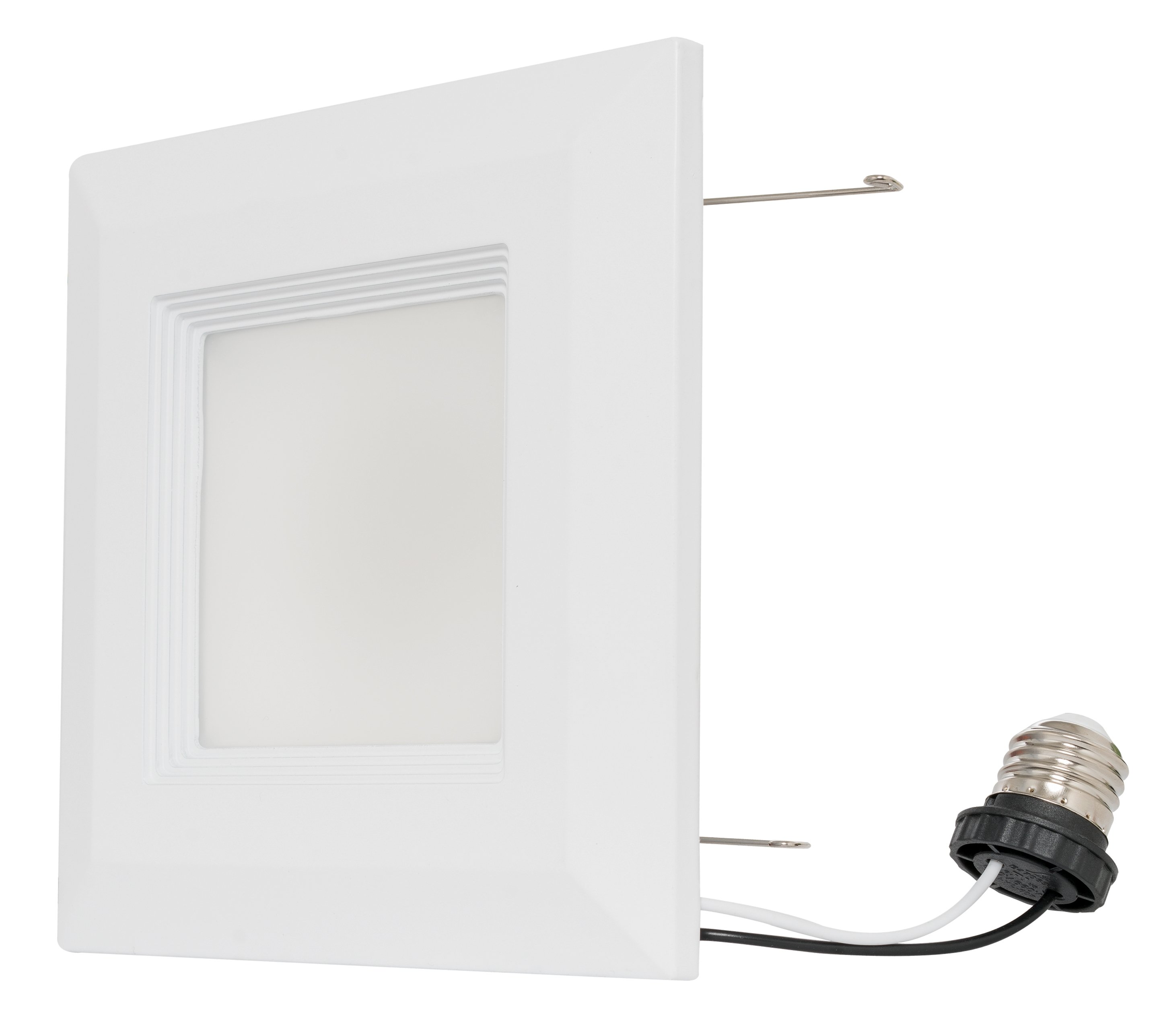 Westgate led square recessed light 6inch retrofit downlight baffle image is loading westgate led square recessed light 6inch retrofit downlight aloadofball Gallery