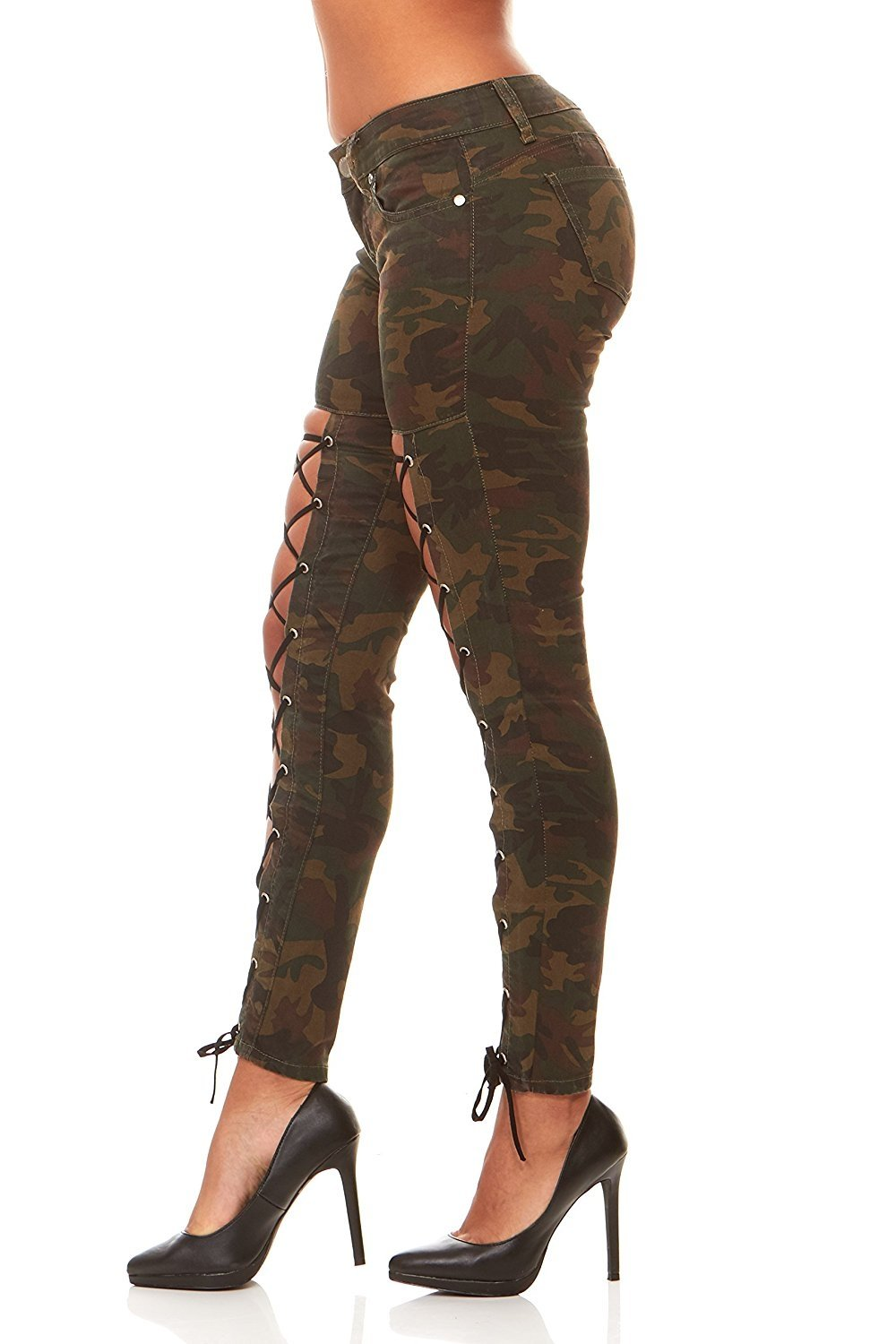 Skinny Camouflage jeans for juniors best photo