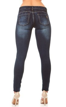 VIP Jeans for women Skinny Slim Fit Butt Lift Stretchy ankle Acid Washed