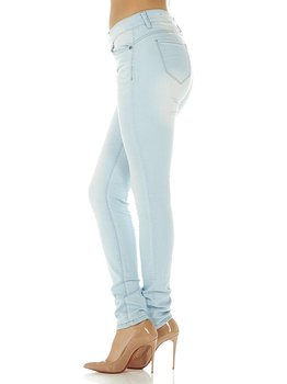 6d1e5c10395a1 Cover Girl Denim Jeans for Women Juniors Mid Rise Slim Fit Stretchy Skinny  Jeans Size 3 4 Baby Blue