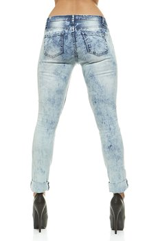 f86b243d889 V.I.P.JEANS Ripped Distressed Skinny Mid-Rise Washed Jeans For Women 5  Bleached Denim Choices Junior or Plus Sizes