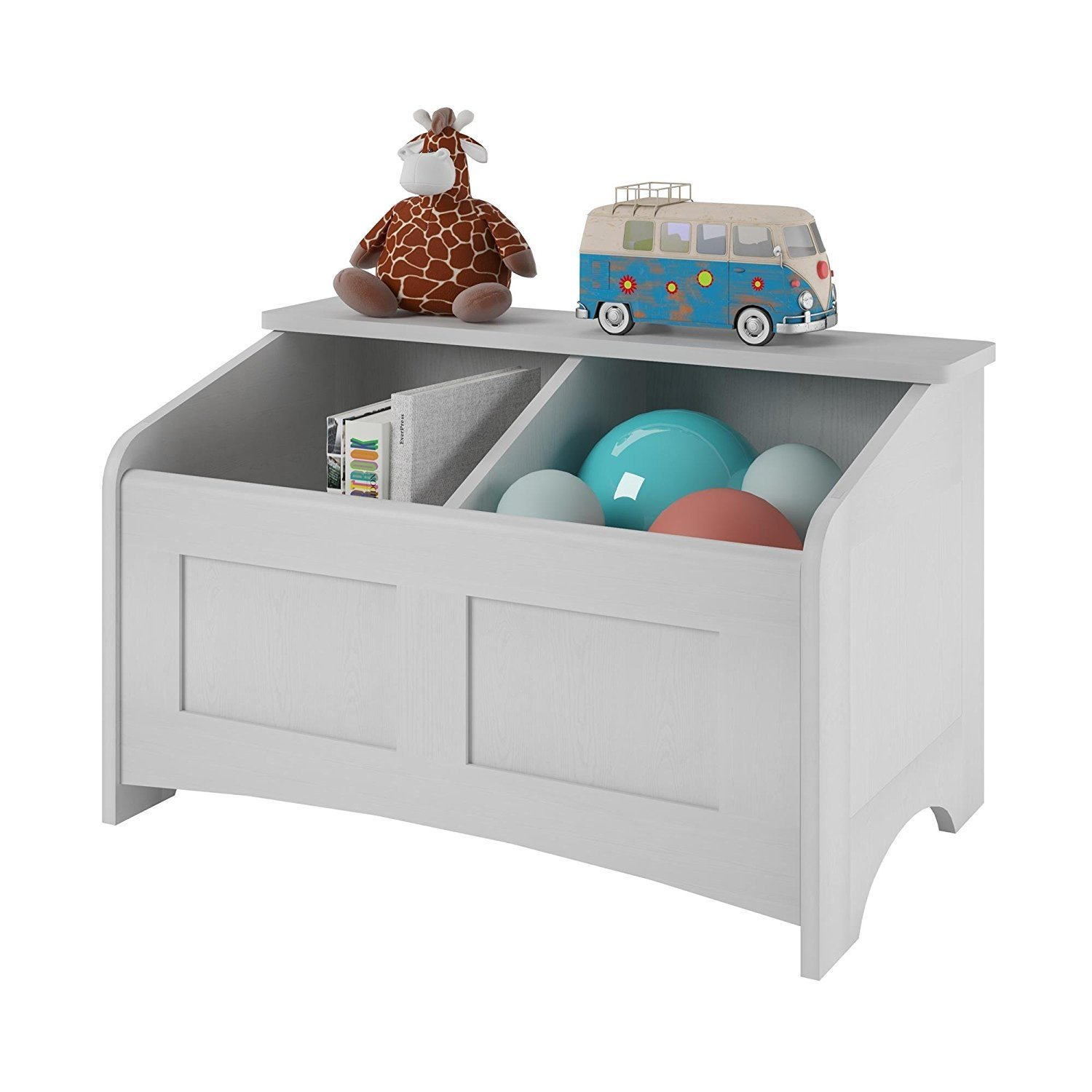 Ameriwood Home C Idy Toy Chest Federal White