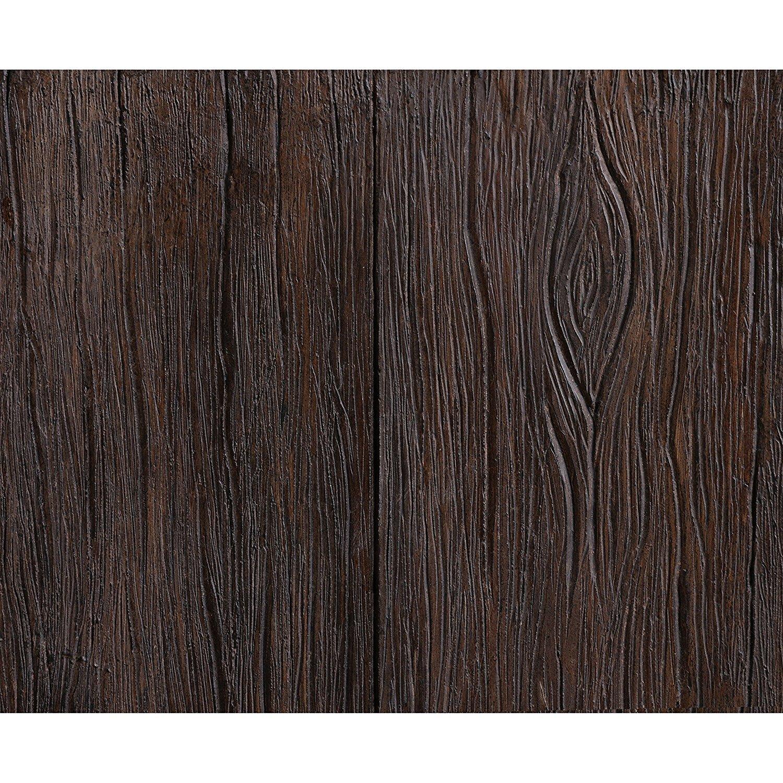 Design Craft Tlaloc Indoor Outdoor Floor Fountain Wood Grain