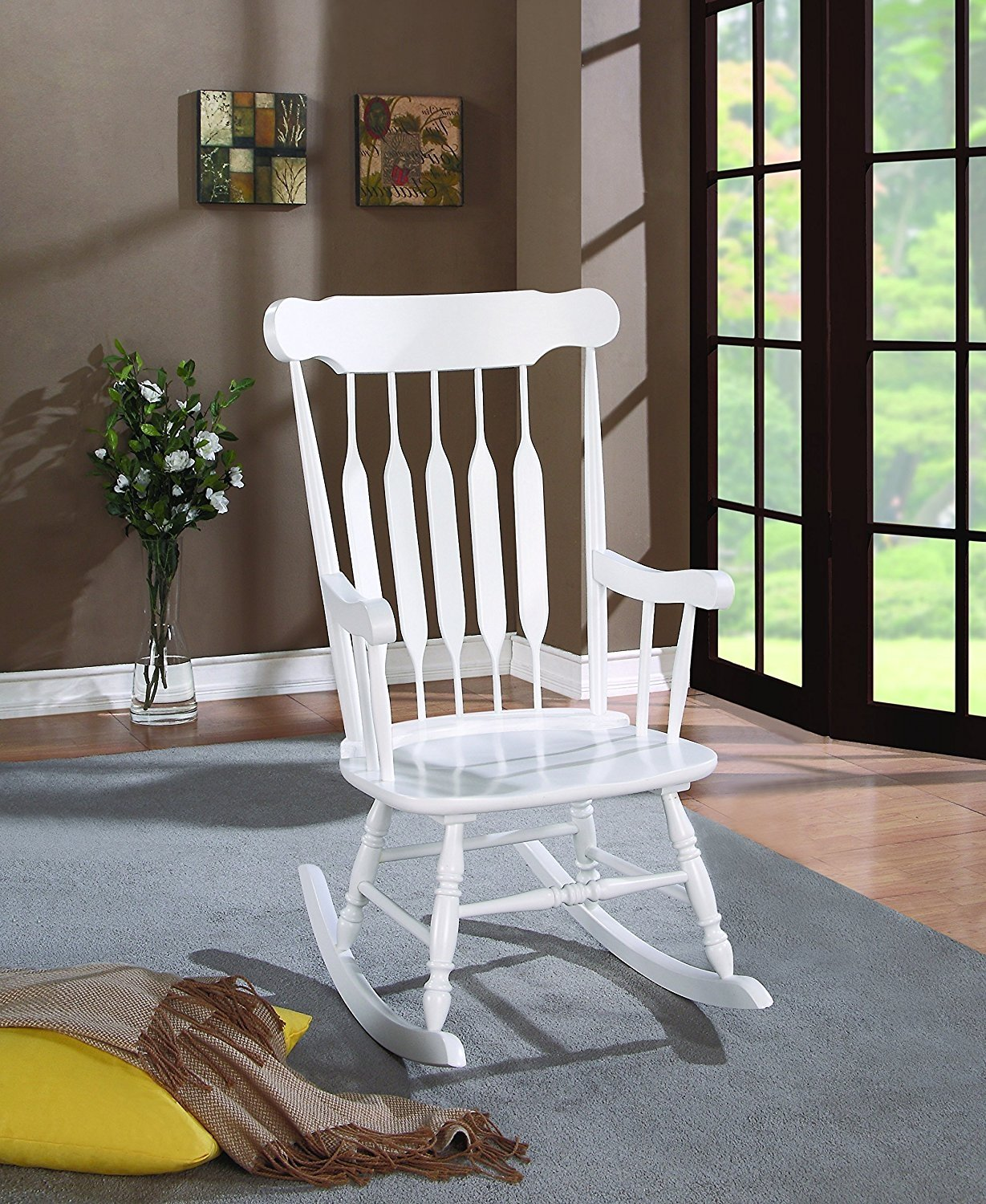 Enjoyable Details About Coaster Marysville Indoor Rocking Chair Gamerscity Chair Design For Home Gamerscityorg