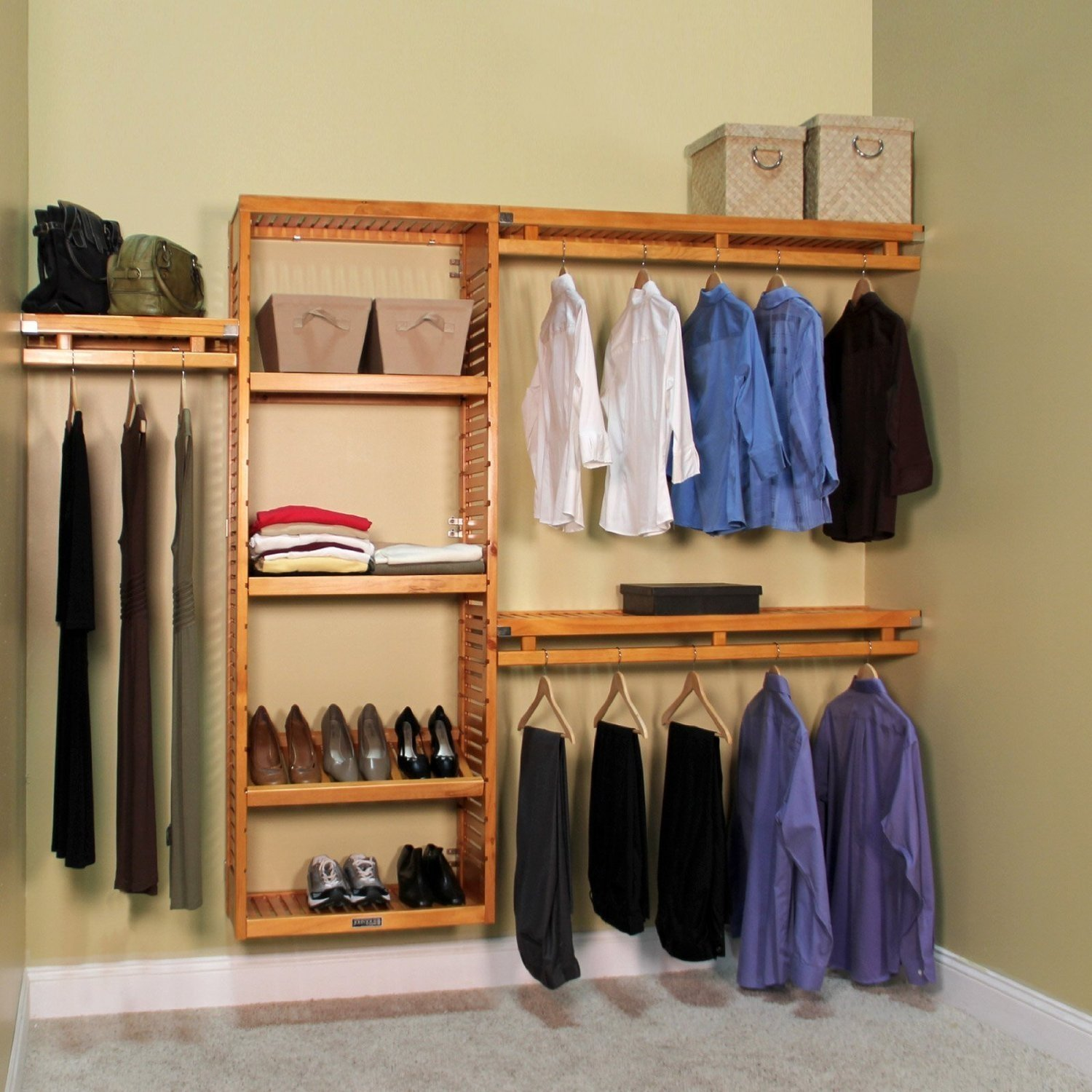 Delicieux John Louis Home 12 In. Depth Simplicity Closet Organizer