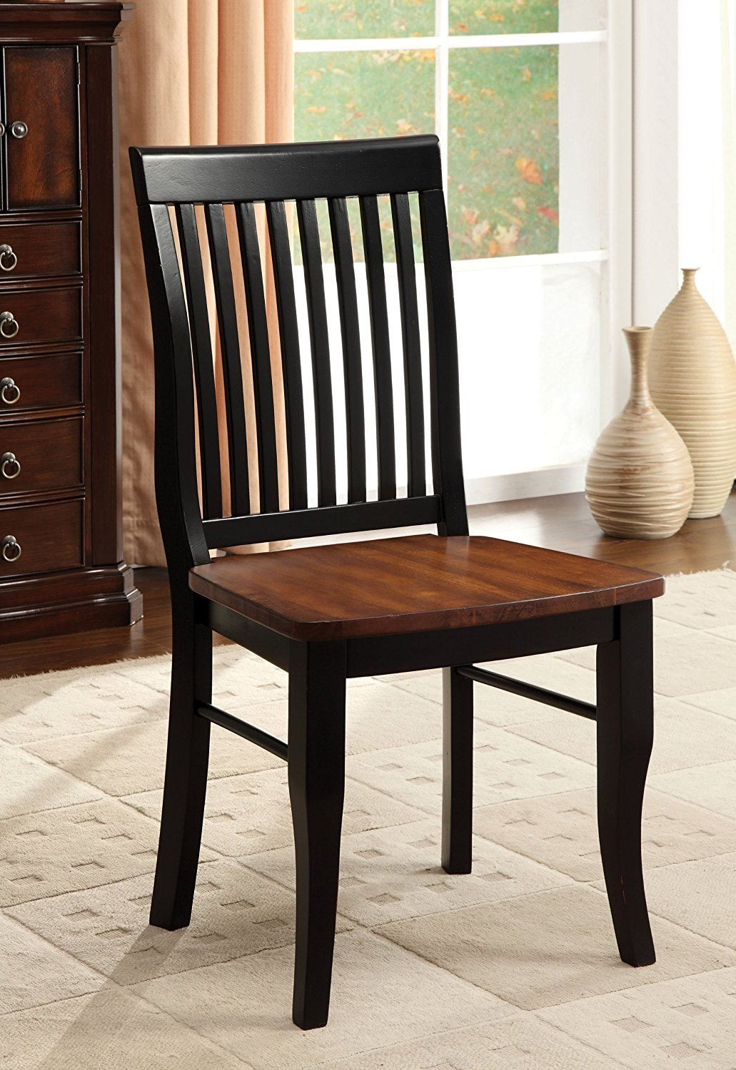 Furniture Of America Charleston Mission Style Dining Chair Antique